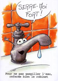 Fermer le robinet pour faire des économies