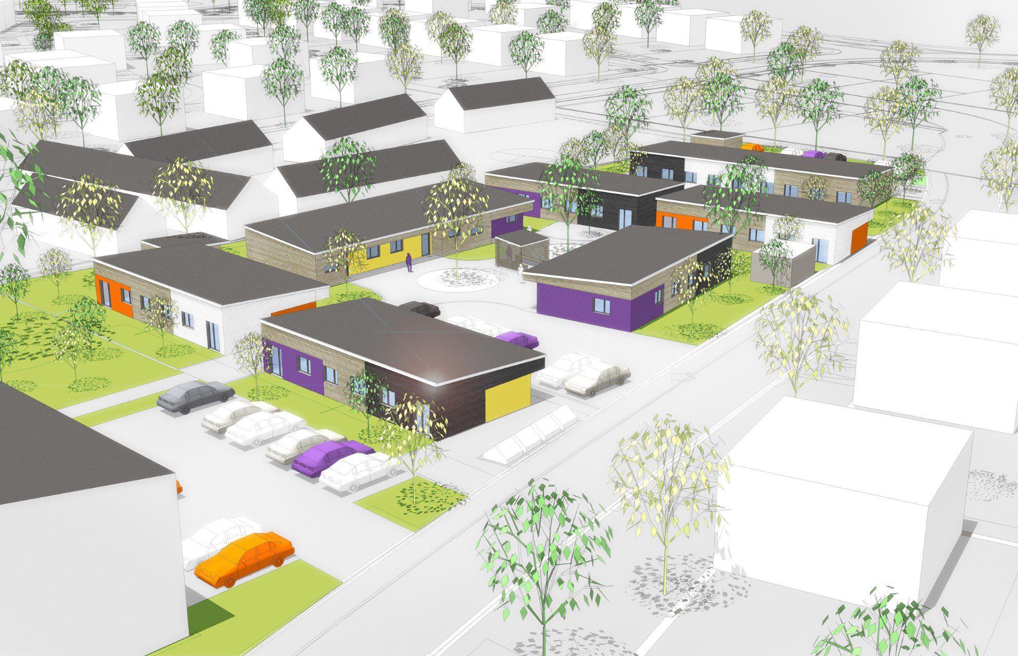 Les Amandiers : 15 logements BienveillanS à Guilers