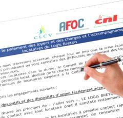 Signature d'un protocole sur l'accompagnement des ménages en difficulté